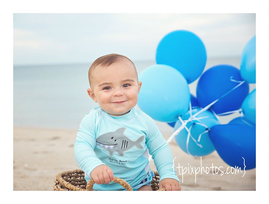 a6a2a4795 first birthday beach photo session Theresa Reynolds Photography Vero ...