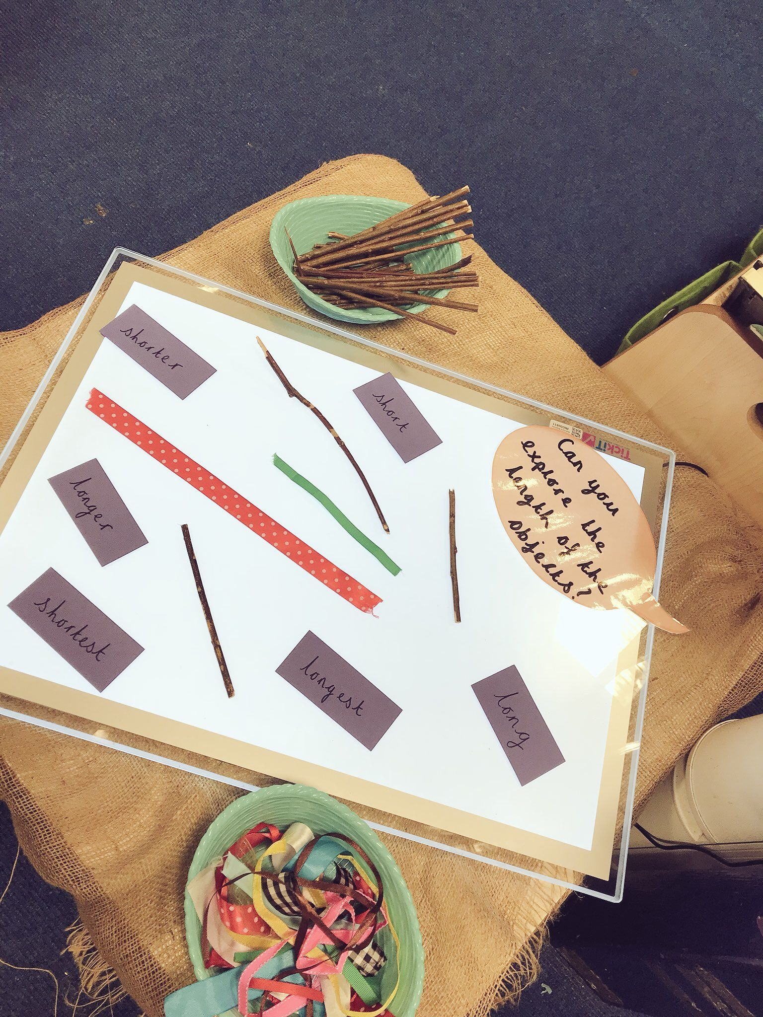 Can You Explore The Length Of The Objects Eyfs