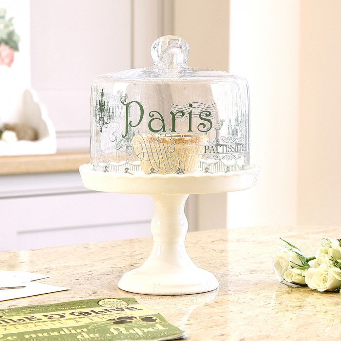 Patisserie Cake Stand with Cover