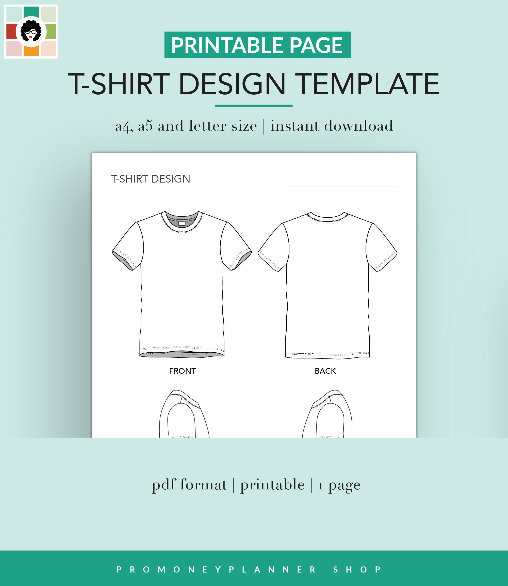 T Shirt Design Template Printable On Demand T Shirt Etsy T Shirt Design Template Design Your T Shirt Design Template