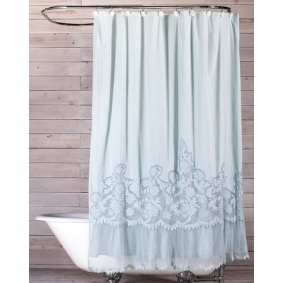 Caprice Cotton Single Shower Curtain Shabby Chic Shower Curtain Shabby Chic Bathroom Shabby Chic Shower
