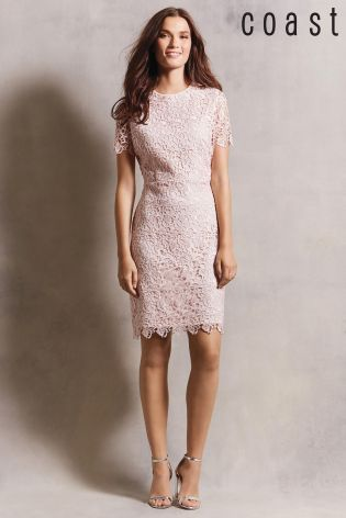 Buy Blush Coast Rosita Lace Dress from the Next UK online shop ...