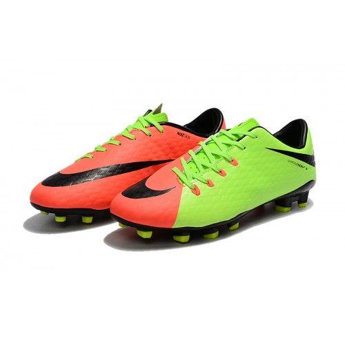 81dfe03092a ... uk botas de fútbol de hombre nike hypervenom phelon 3 fg verde naranja  negro 4c2cd 0d789