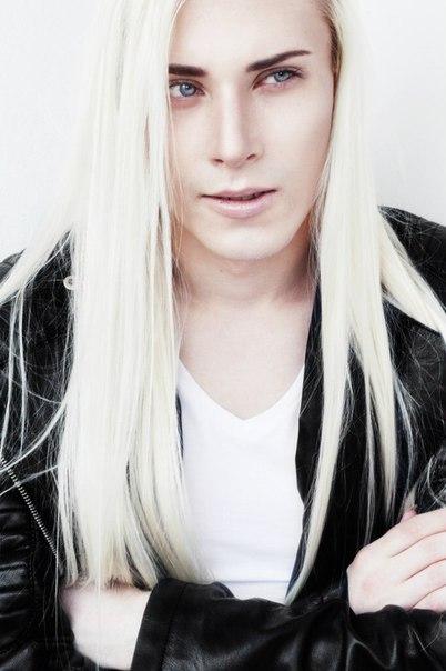 Long Haired Guys Valery Kovtun In 2020 White Hair Men Long White Hair Long Hair Styles Men