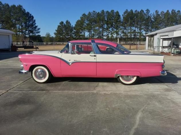 Autotrader Classics 1955 Ford Crown Victoria Coupe Pink Other