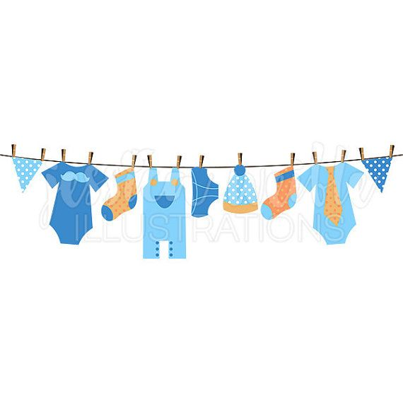 Baby Boy Clothesline Cute Digital Clipart, Boy Clothesline Clip art, Boy Clothes Graphics, Clothesline Illustration, 084 is part of Clothes Illustration Clotheslines - Baby Boy Clothesline Clip art Image Digital illustration of a cute baby boy clothesline  Graphics are created in vector image software and are saved at High Quality 300 dpi Resolution   Image Size Graphics will be 7 inches at their tallest or widest point  Formats Included High Resolution JPG with White Background  High Resolution PNG with Transparent Background  USES ALLOWED Any Personal or NonProfit Projects  Commercial Use with Graphic Credit Given Restrictions Apply  Commercial Use without Graphic Credit Given Fees & Restrictions Apply Please Read Full TERMS OF USE if Purchasing Images for Commercial Use  Artwork is NOT available for Resale, Reproduction, or Redistribution of any kind  Limited Digital Product Use Please Read Full Terms of Use on limitations for the creation of Digital Products  All Original Artwork and Rights are © Jessica Weible Illustrations