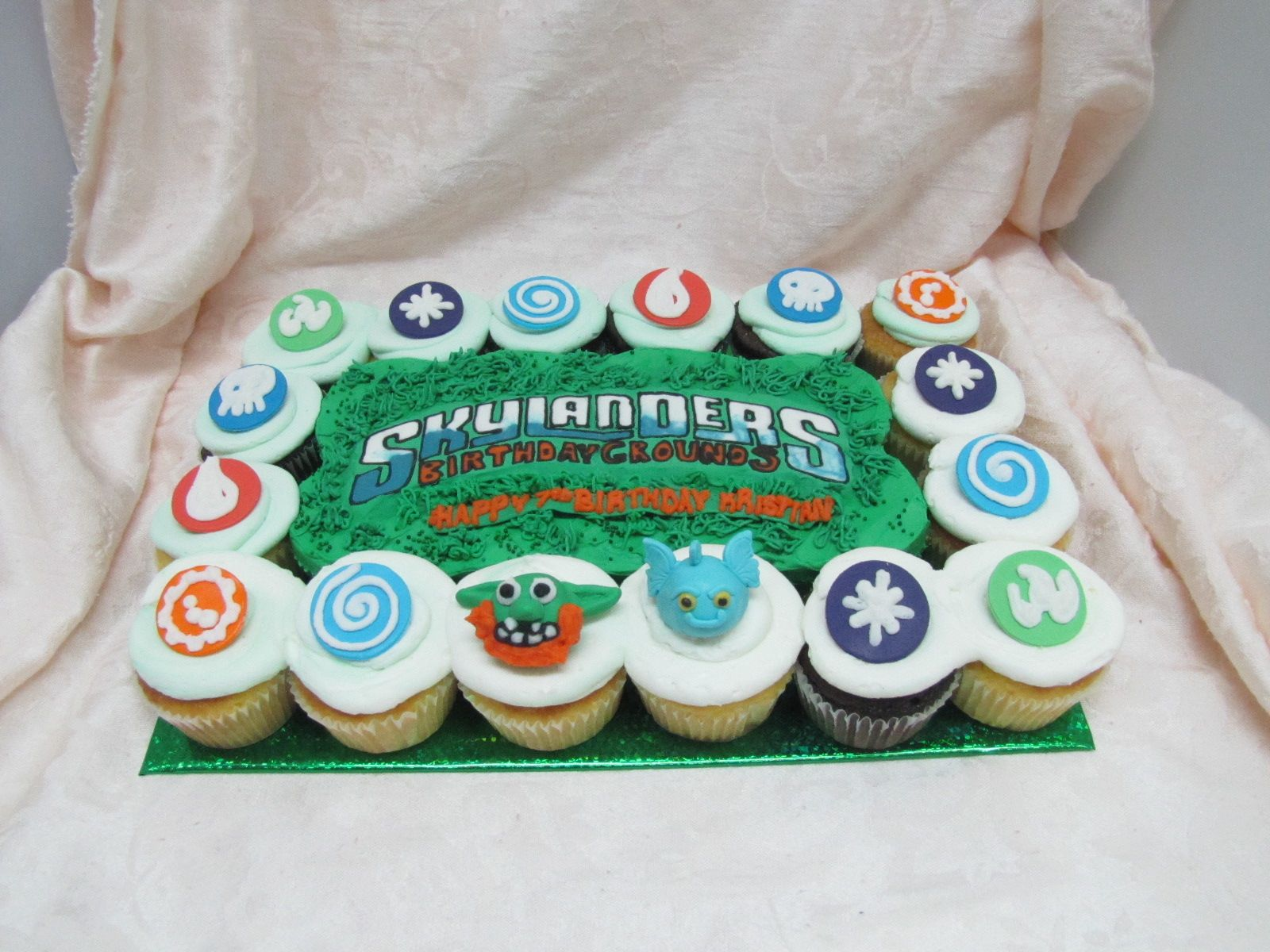 SkyLanders Cupcake Cake Dessert First LLC 71626CAKES Dessert