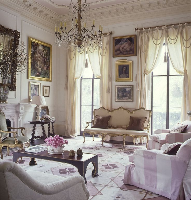 Explore Pink Living Rooms Formal And More Garden District New Orleans Interior