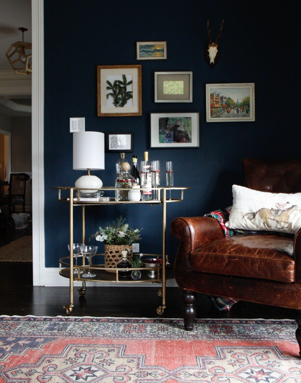 Best Favorite Colors Hague Blue Dark Living Rooms Gold Room 400 x 300