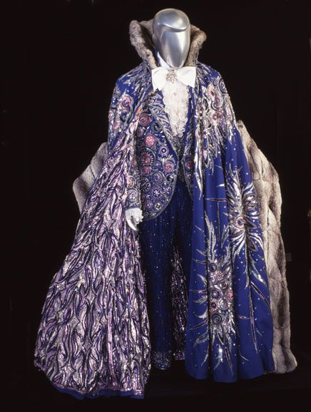 handmade costumes for sale liberace blue silver pink show clothing design 2241