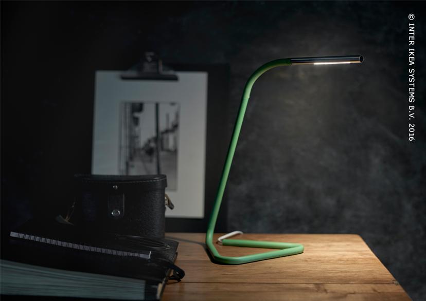 HÅrte lampe de bureau à led vert couleur argent bureaus and catalog