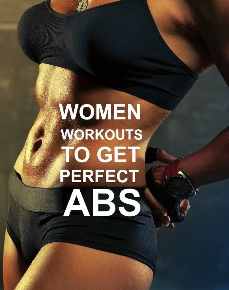 Women Workouts To Get Perfect ABS