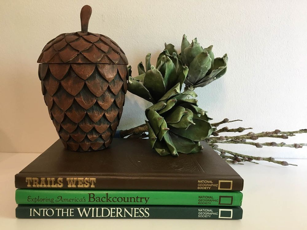 3 wilderness themed old/vintage Authentic Decorative