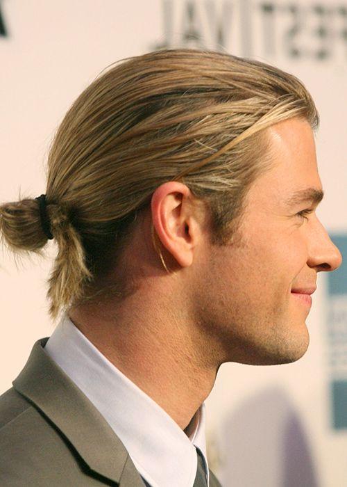 Learn To Tie The Most Effortless Man Bun Bun Hairstyles Man Bun Hairstyles Long Hair Styles Men