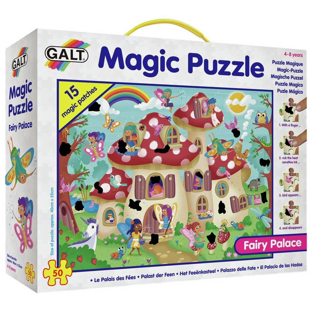 Buy Galt Toys Fairy Palace 50 Piece Magic Puzzle 2 For