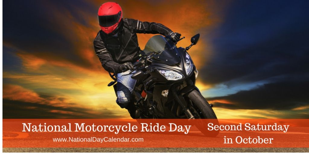 NATIONAL MOTORCYCLE RIDE DAY in 2020 National day