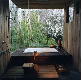 Japanese bathroom set