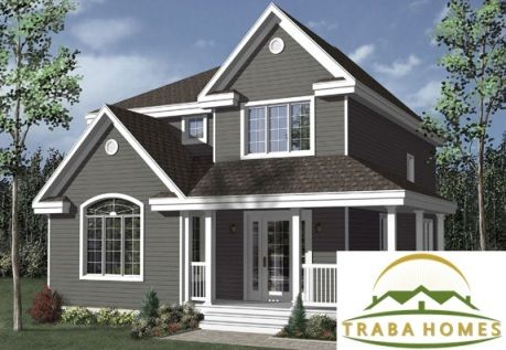 Traba homes offers wide range of two story style modular for Farmhouse modular homes