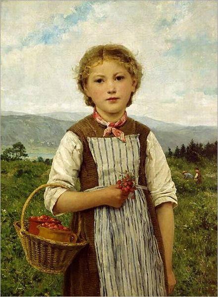 Albert Anker (1831 – 1910) – Pintor Suiço_2