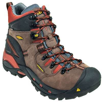 Keen Boots: Men's Brown 1009709 Waterproof EH Pittsburgh Hiking ...