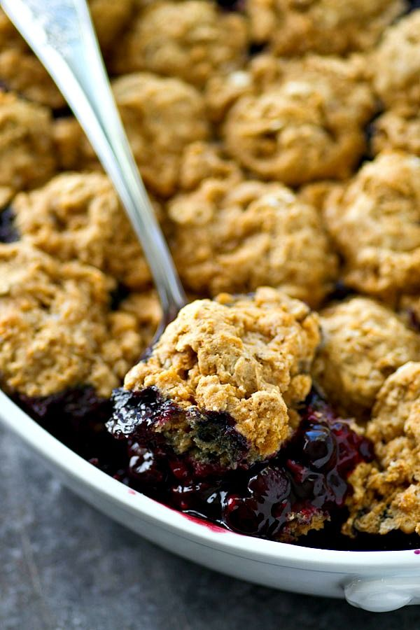 mixed berry cobbler with oat biscuits mixed berry cobbler best ...