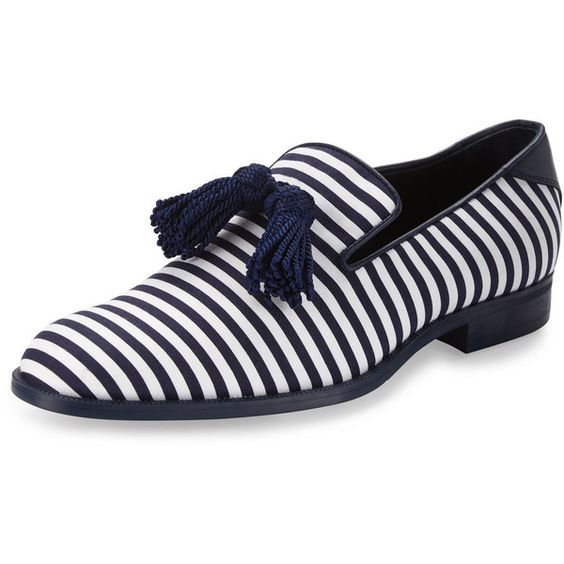 1e604c89178 Jimmy Choo Foxley Men s Striped Tassel Loafer ( 745)
