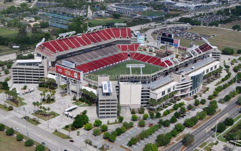Raymond James Stadium Seating Charts View We Have Tickets To All Bucs And Bulls