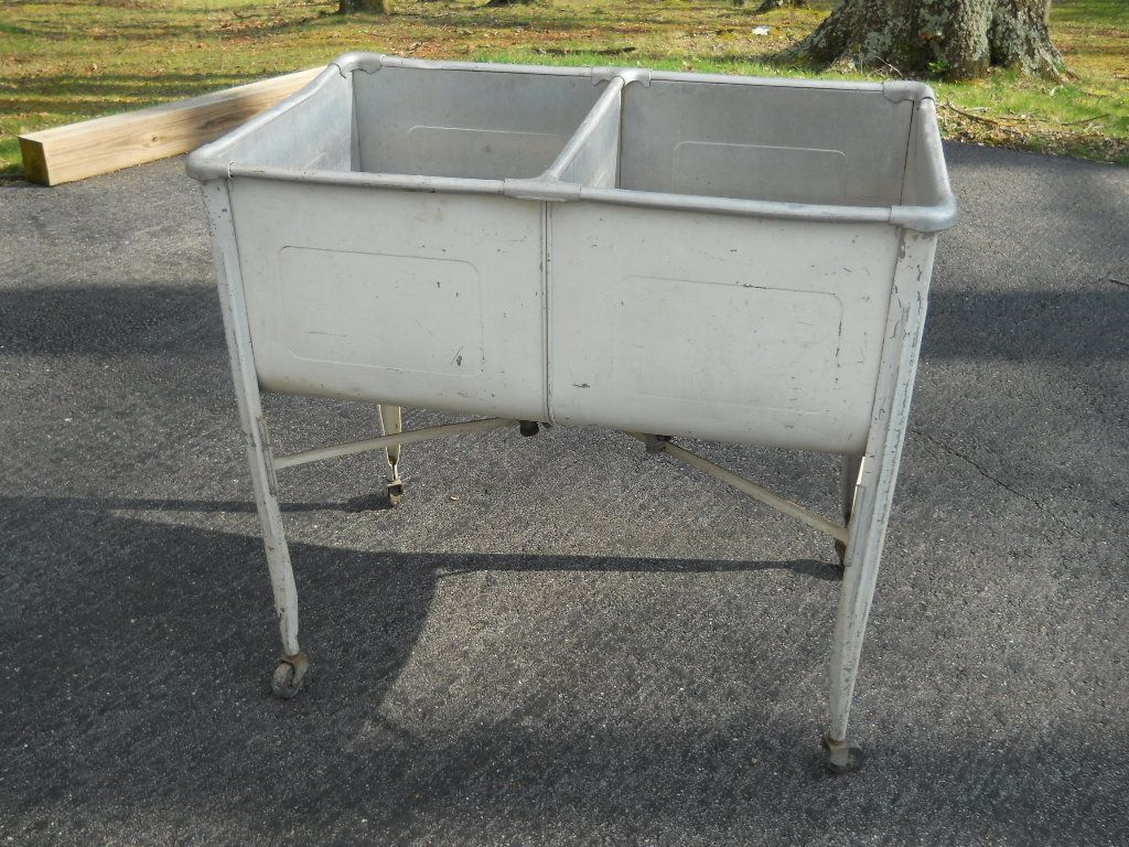 Galvanized Metal Wash Tubs Ebay Metal Wash Tub Wash Tubs Galvanized Wash Tub