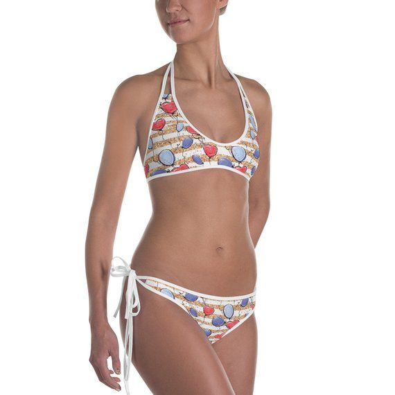 5a9dc9a340 Fourth Of July Bikini Two-Piece Bathing Suit Women's Swimsuit Memorial Day  Independence Day Labor Da