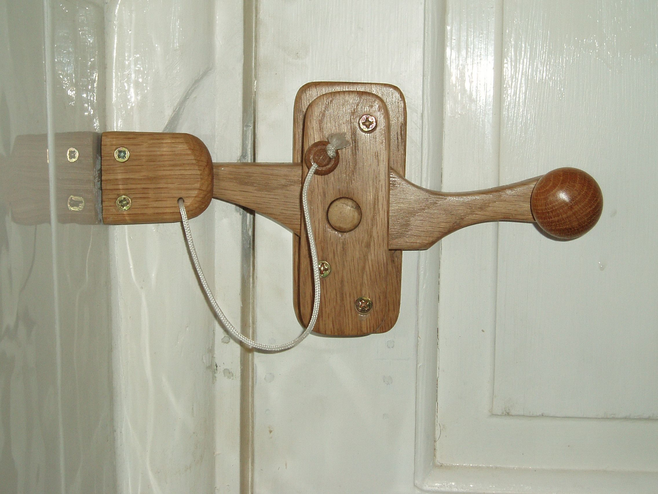 Wooden door latch Door latches Bathroom doors and Doors