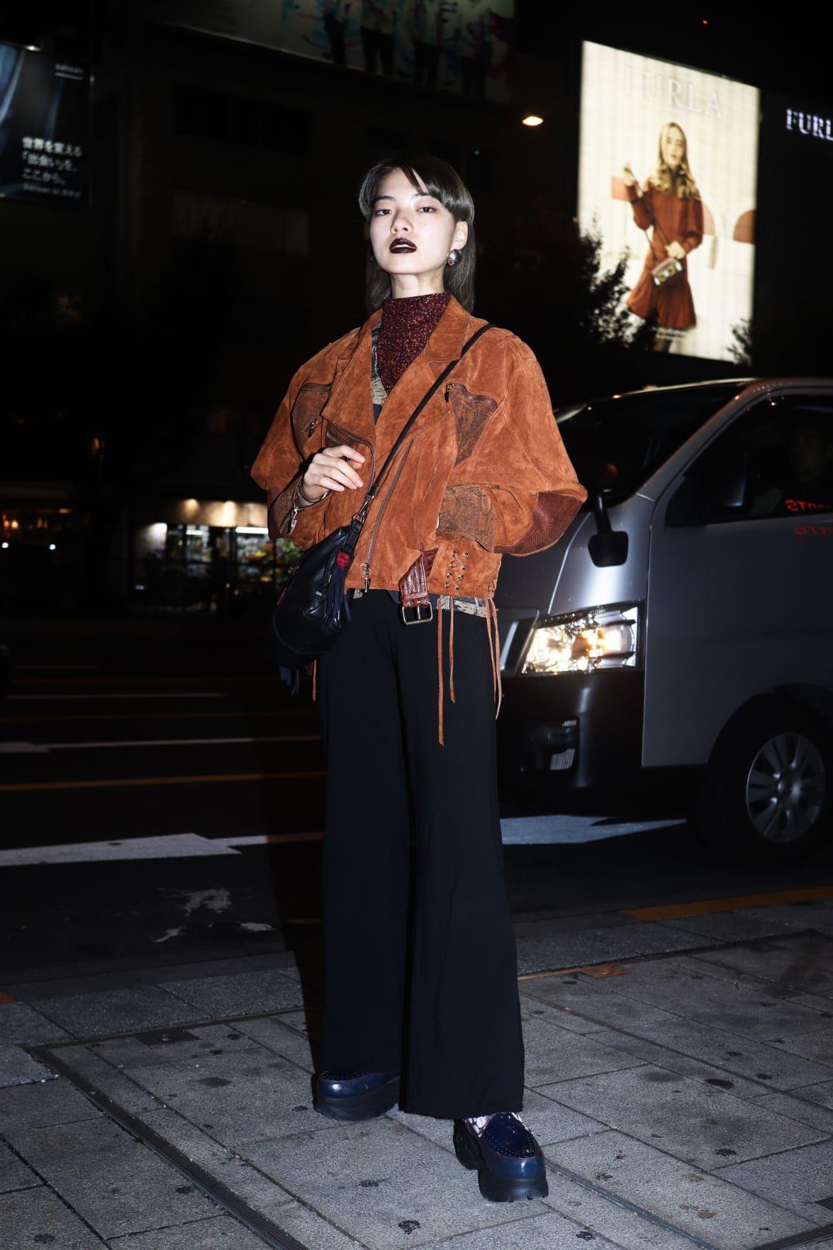 Street Style - 表参道 - アオイ ヤマダさん - FASHIONSNAP.COM