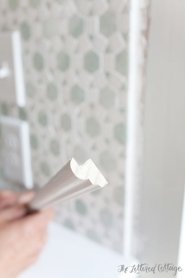 edging tiles for kitchen backsplash tile edge molding the lettered cottage 7031