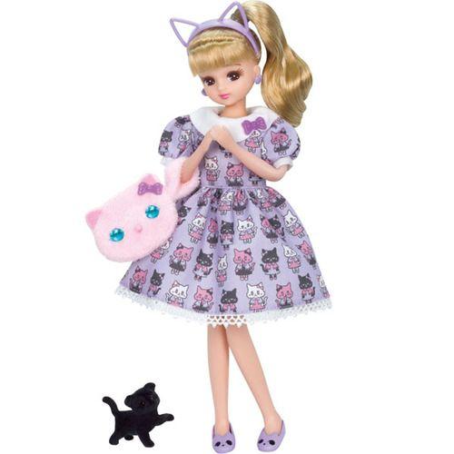 Takara Tomy Licca Doll LD-09 Kitten Coordinate (971665)
