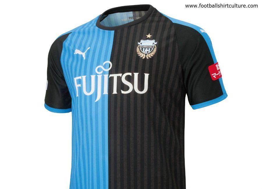 eefc7244c  football  soccer  futbol  frontale  jleague Kawasaki Frontale 2018 Puma  Home Kit