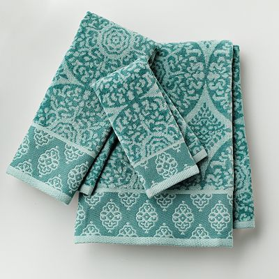 Kohls Bath Towels Pleasing Tiburon Medallion Bath Towels  Everything Turquoise  Aqua  Teal 2018