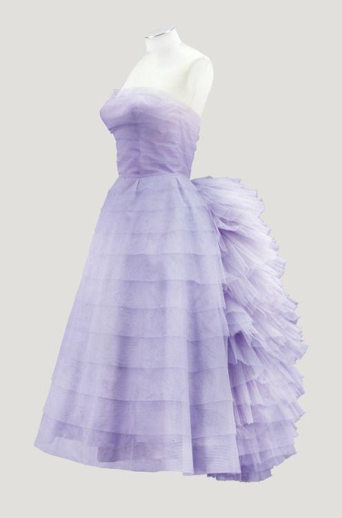 Lanvin Castillo cocktail dress, 1956 From Sotheby's