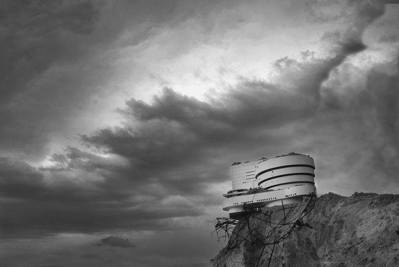 vitaliy and elena vasilieva visualize an architectural apocalypse - designboom | architecture