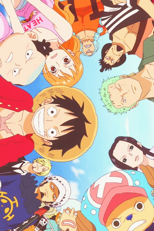 Luffy With His Crew Mates And Some Other Friends One Piece Anime One Piece Chopper One Piece Manga