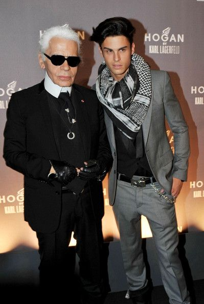 d8c071009b3 Karl Lagerfeld Is Set To Marry Long Time Boyfriend Baptiste Giabiconi In  Summer 2011 | Fashionistas Daily