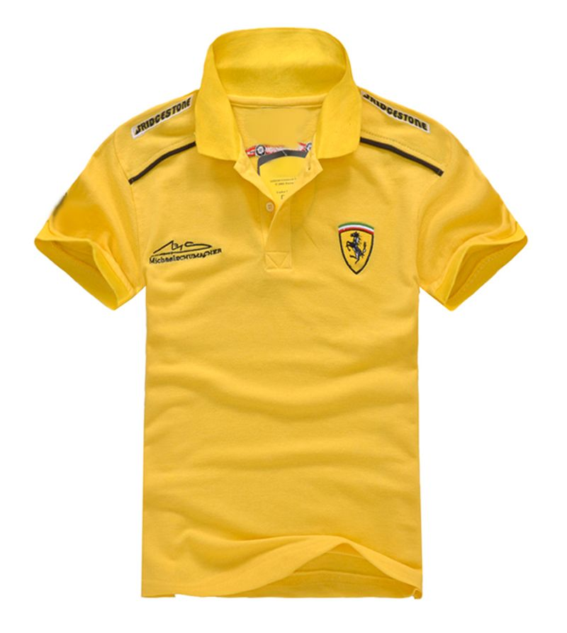 Men Polo T Shirt F1 Racer Ferrari Car Me End 9 23 2017 5 17 00 Am
