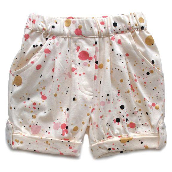 Soft Gallery Splatter Shorts.