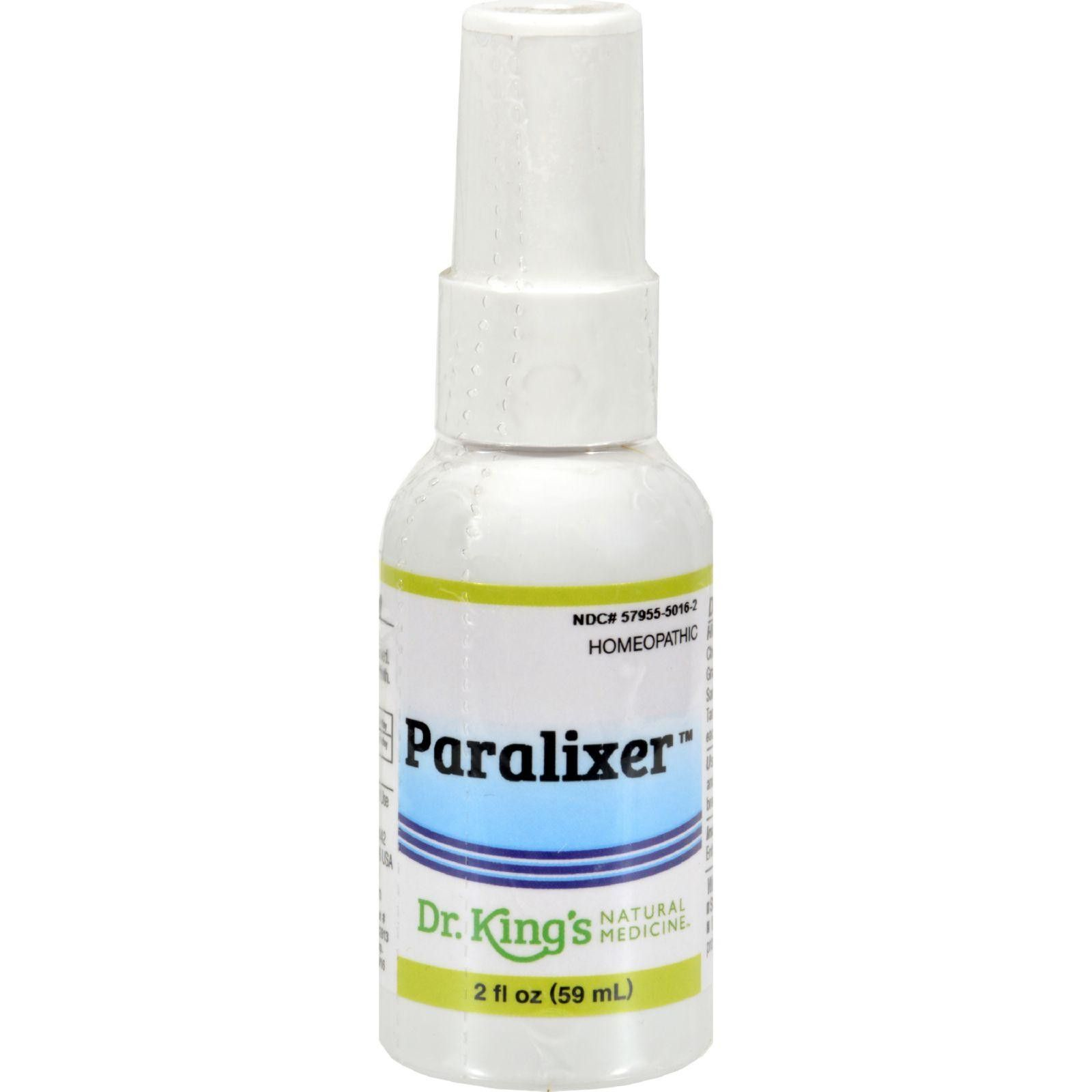 King Bio Homeopathic Paralixer - 2 Fl Oz