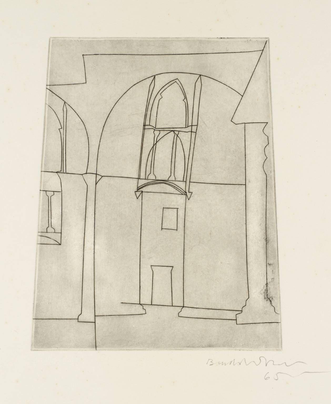 Ben Nicholson OM 'small silent siena', 1965 © Angela Verren Taunt 2014. All rights reserved, DACS