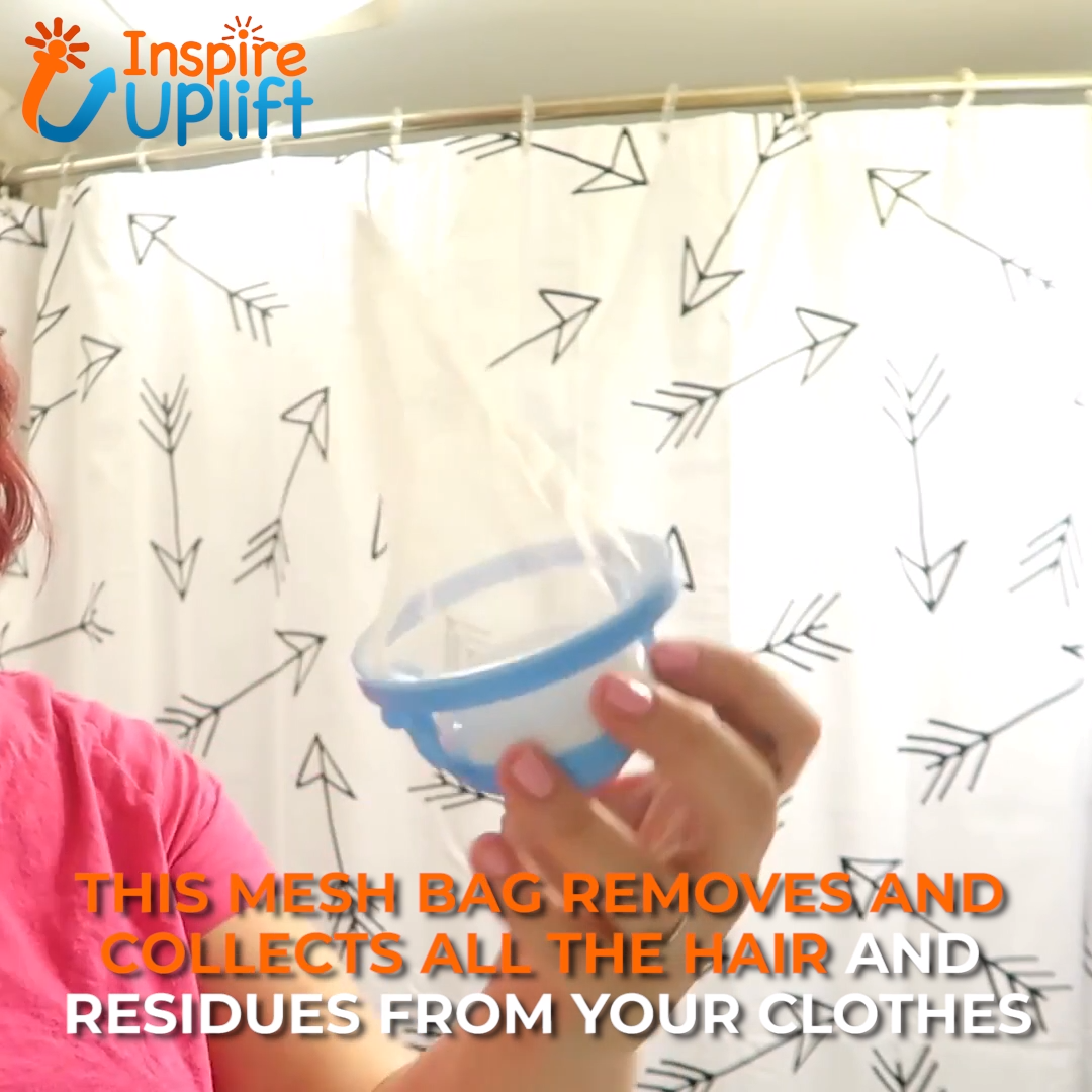Daisy Laundry Hair Catcher Video Video Diy Cleaning Products