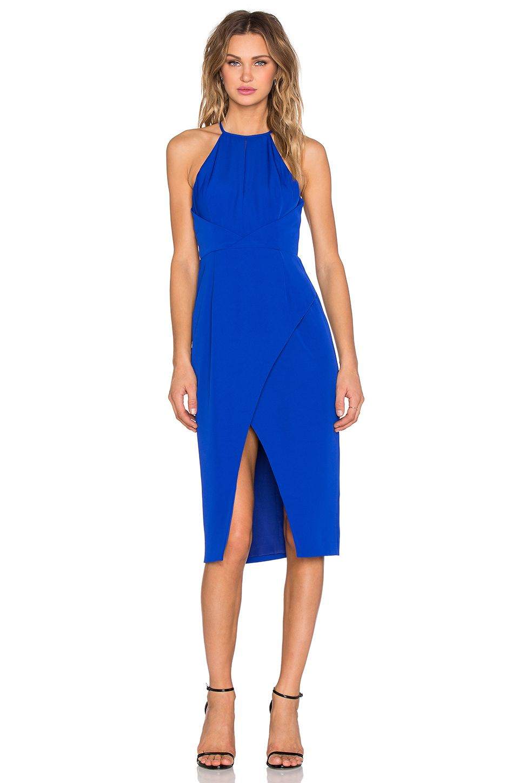 Finders Keepers Guilty Pleasure Dress in Cobalt | REVOLVE