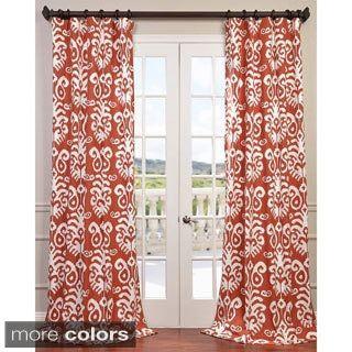 printed cotton curtain drapes curtains
