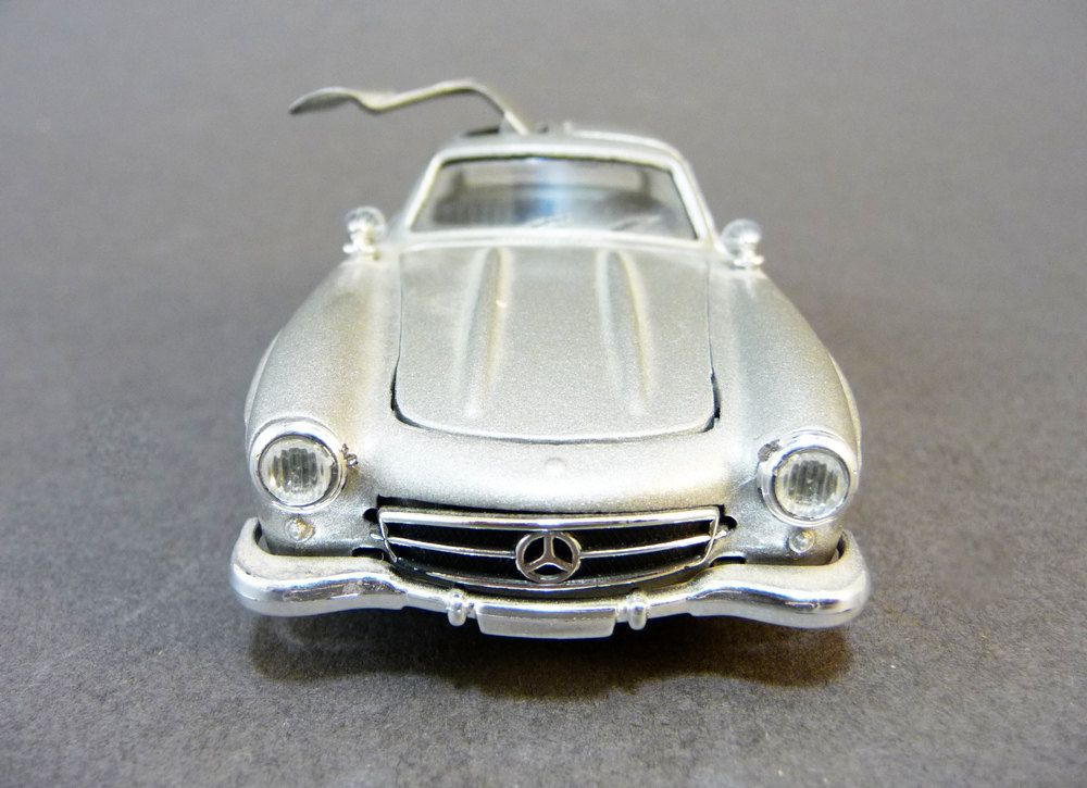 miniature car mercedes 300 sl scale 1 43 solido model made in france collectable toy. Black Bedroom Furniture Sets. Home Design Ideas
