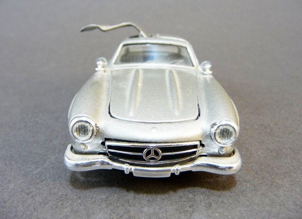 miniature car mercedes 300 sl scale 1 43 solido model. Black Bedroom Furniture Sets. Home Design Ideas