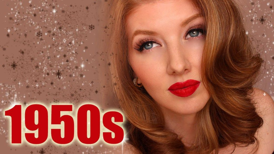Historically Accurate 1950s Makeup Tutorial 1950s