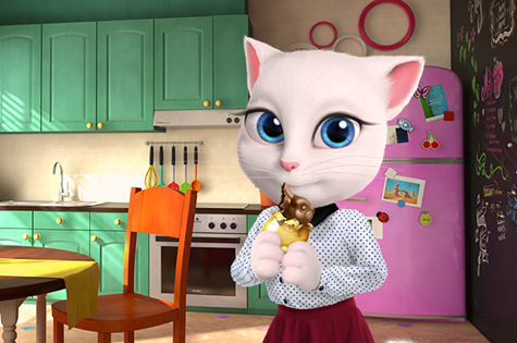 Pin by ana garcia on talking Angela and friends Funny